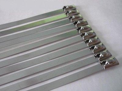 10 x metalen kabelbinders voor montage van thermoband