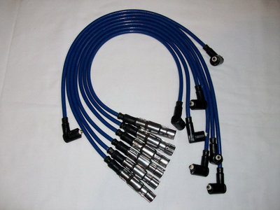Blauwe bougiekabelset VR6 Dis-ontsteking