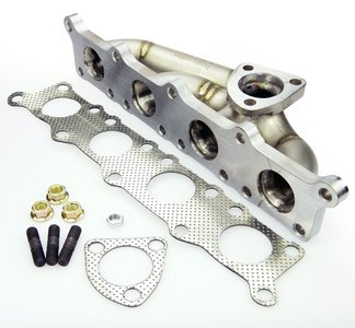 Titanium turbo uitlaatspruitstuk 1.8T K03/K04 in de lengte ingebouwd