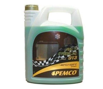 5 liter groene- blauwe koelvloeistof