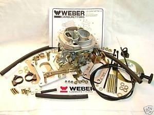 Weber 32/34 DMTL vervangingscarburateur VW 1800cc handgeschakeld.
