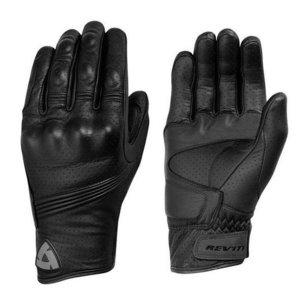 Revit Fly motorhandschoenen zwart leer maat XL