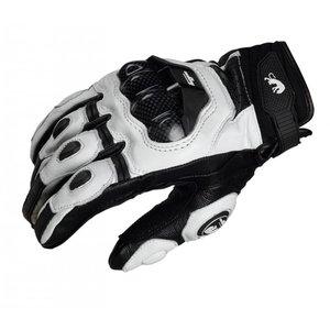 Furygan motorhandschoenen zwart/ wit leer maat XL