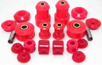 Set polyurethaan rubbers onderstel Golf 2